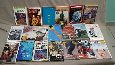 Lot of 20  Young Teen Chapter Books--PAPERBACKS--(#103)--FREE SHIPPING