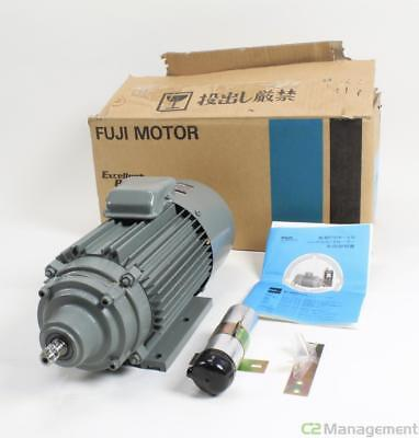 New Fuji Electric Motor PS103G10 1 Phase 100W 200V 1:10 Gear Ratio 71M