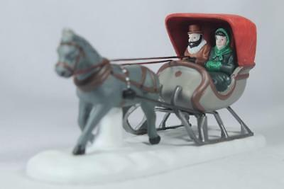 Dept 56 Heritage Accessory 'One Horse Open Sleigh' #5982-0  In Original Box!