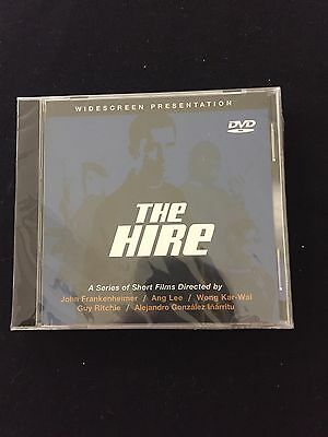 New Sealed THE HIRE 2002 BMW Films Collection of 5 Short Films DVD