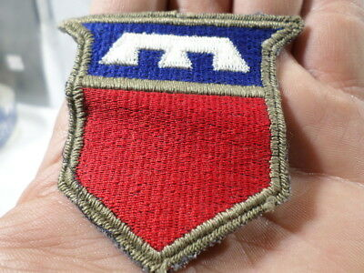 WWII US Army 76th Infantry Division BLACK/Blue Back British Made Patch