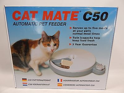 Cat Mate C Automatic Dry Food Pet Feeder Instructions