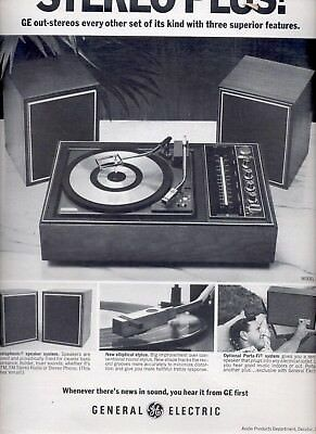 Dec. 13, 1968    General Electric Stereo plus       ad (# 5956)