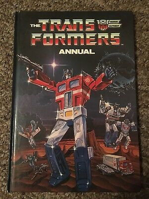 Transformers UK Annual 1986 Good condition
