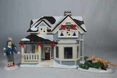 Dept 56 Snow Village LE Spl Price 'Home For The Holidays' #4059386 New in Box
