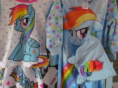 2 Sets ~ Toddler Girls My Little Pony The Movie Long Sleeved Pajamas Size 2T