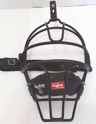 Rawlings Ai1 Adult Baseball Umpire Catcher Face Mask Made For Helmet         C