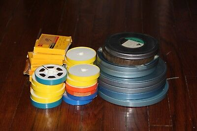 34 Reels of 8 & Super 8mm home movies Mixed Lot 1950's -1970's