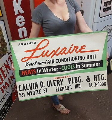 1950 vintage Luxaire Heating Cooling Air Conditioning Org. Advertising