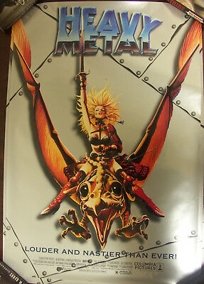 Heavy Metal - 2 of the  Re-Release Movie Poster