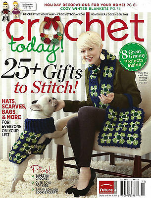 Crochet Today Magazine September October 2011 Excellent Patterns