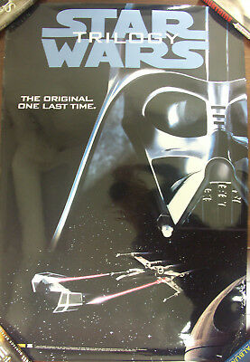 Star Wars - 4 posters for Trilogy Video Re-Release (the original one last time)
