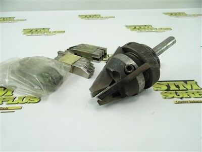 """Nice Precision Hollow Mill 5/8"""" Striaght Shank W/ 4 Sets Of Hss Blades"""