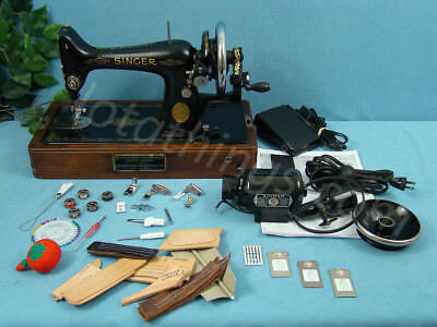 Industrial Strength Heavy Duty Hand Crank Sewing Machine Leather & Upholstery