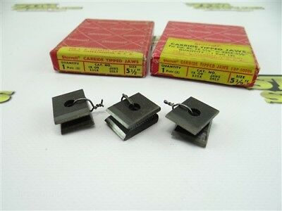 """3 Pair Of Jaws For Starrett Cut Nippers Carbide Tipped Size 5-1/2"""""""