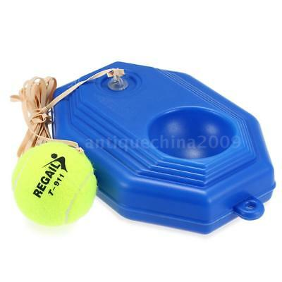 Tennis Training Tool Trainer Practice Ball Selfstudy Rebound Ball Baseboard P4R9