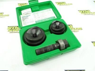 """Nice! Greenlee 737Bb Knockout Punch Set 1-1/2"""" & 2"""" Conduit"""