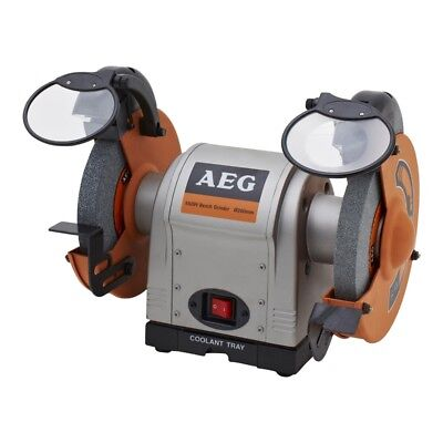 AEG 550W 200mm Bench Grinder