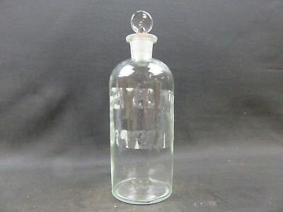 TCW Co USA 4-L-7 ground glass stoppered media chemical bottle