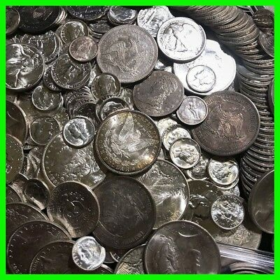 ✯90% SILVER US COINS LOT✯ UNC OLD ESTATE SALE LOT HOARD ✯Pre-1964 BULLION GOLD✯