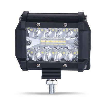 60W Spot 20 LED Light Work Bar Lamp Driving Fog Offroad SUV 4WD Car Boat Truck