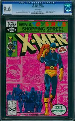 X-Men # 138  Exit Cyclops !  John Byrne Classic !   CGC 9.6  scarce book !