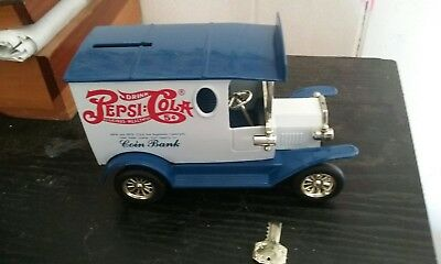 Die Cast Pepsi Cola Truck Coin Bank