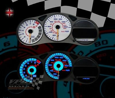 Toyota Celica mk7 GT 1.8 car speedo dash clock panel light bulb led dial kit