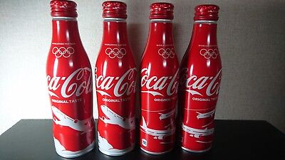 Japan Airlines(JAL) × Coca Cola 250ml Bottle Can Set of 4
