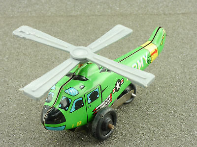 ND Japan Hubschrauber Helicopter US Army Blech tin litho toy 1604-25-21
