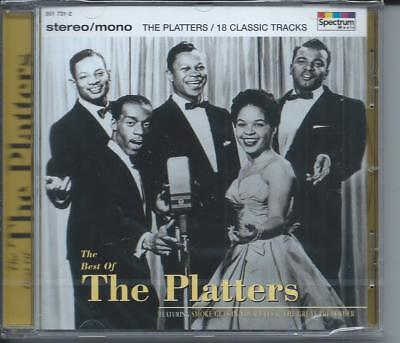 CD The Platters - The Best Of Neuf sous cellophane