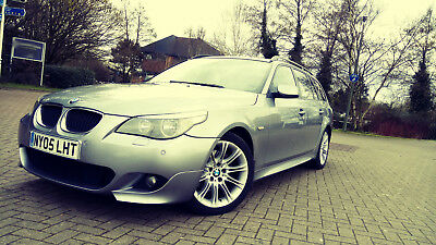 BMW 530D 3.0TD AUTOMATIC SE TOURING, HEATED & COOING LEATHER + ...