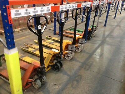 Pallet Truck  4 Available £65 Each Used Daily Mezzanine Floor Pallet  Racking