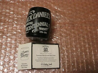 Jack Daniels Legends Bicentennial Shot Glass