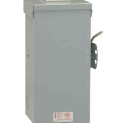 GE Non-Fused Emergency Power Transfer Switch 100 Amp 240v ship to PR