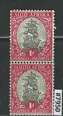 #7950 SOUTH AFRICA Sc#24 Used Vertical Pair 1926 Combine Shipping