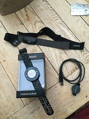 Garmin Forerunner 620 GPS Running Watch Heart Rate Monitor Good Condition Boxed