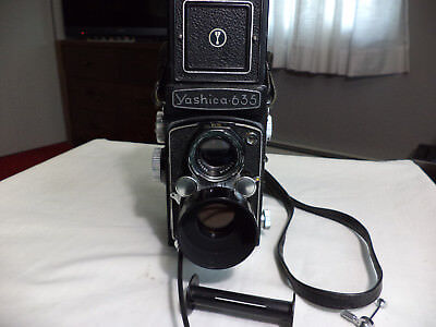 "Vintage Yashica 635 TLR 120mm Camera Bundled With 35mm Kit & More - ""VERY NICE"""
