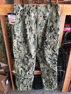 NEW US Navy AOR2 NWU Camouflage COMBAT PANTS SEAL Trousers Size LR FROG Gear