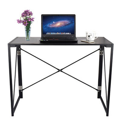 Foldable Computer Desk Folding Laptop PC Table Home Office Study Workstation