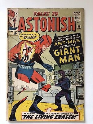 Marvel 1964 Tales To Astonish #49 VG/F 5.0 1st Giant Man **LOOK**
