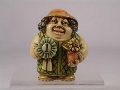 Harmony Kingdom/Ball Pot Bellys/Belly 'Flower Potter' Gardener #PBPGA New In Box