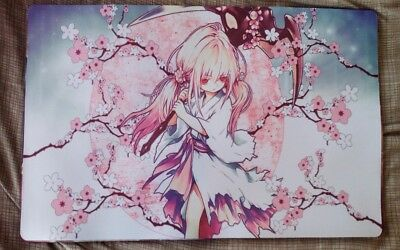 Ghost Reaper & Winter Cherries Custom Yugioh Playmat FREE SHIPPING