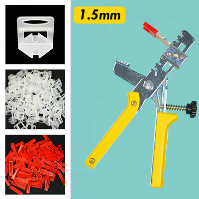 600-4000x Tile Leveling System Clips Wedges Plier Spacer Tiling Tool Wall Floor