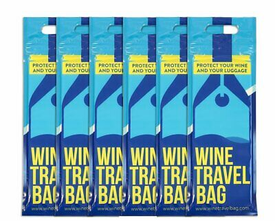 Wine Travel Bag (Pack of 6) For Wine Check in Luggage when travelling