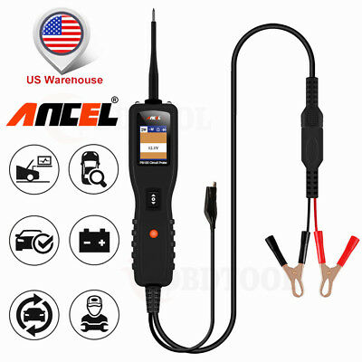 12V Electrical Circuit Power Tester ANCEL PB100 Auto Diagnostic Power Scan Tool