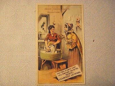 Wrisleys Linen Soap Trade Card