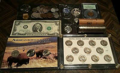 Rare Very Old Antique  American US Coin Collection Money PCGS lot junk drawer