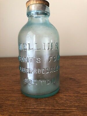 1880,s Mellin's Infant's Food Jar With Lid Rare One