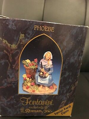 "Fontanini 5"" Phoebe #65340 Special Event Figure NIB W/Story card—Great find!"